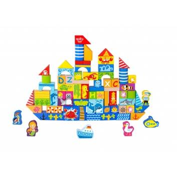 Игрушки, Набор Кубики Tooky Toy 269190, фото