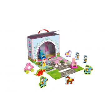 Игрушки, Чемоданчик Замок принцессы Tooky Toy 269188, фото
