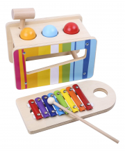 Игровой набор Ксилофон и забивалка Tooky Toy