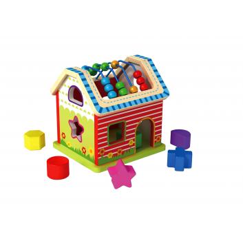 Игрушки, Сортер Домик Tooky Toy 269177, фото