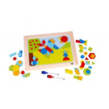 Игрушки, Магнитная игра Формы Tooky Toy 269174, фото