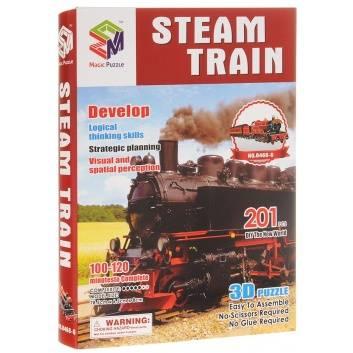 Пазл Старинный Поезд 3D 201 Деталь MAGIC PUZZLE, цвет , артикул 248775, фото, цены - купить в интернет-магазине Nils в Москве