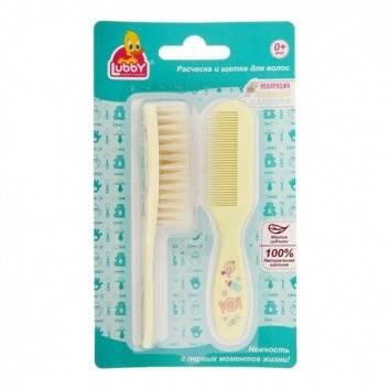 Гигиена, Расческа и Щетка для волос Lubby 248742, фото