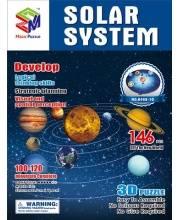 Пазл Солнечная Система 3D 164 Детали
