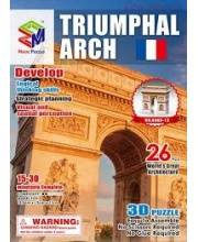 Пазл Триумфальная Арка 3D 35 Деталей MAGIC PUZZLE