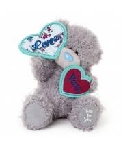 Мишка Тедди 18 См с Сердцем