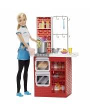 Набор игровой Шеф Итальянской кухни с куклой Barbie