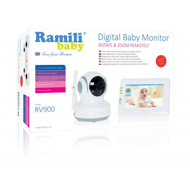 Видеоняня RV900 (Ramili)