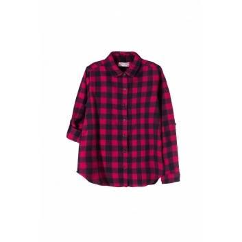 Девочки, Рубашка  (розовый)186059, фото