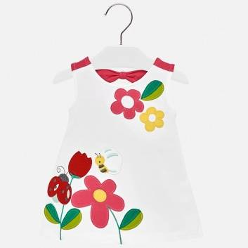 Малыши, Платье MAYORAL (белый)283754, фото