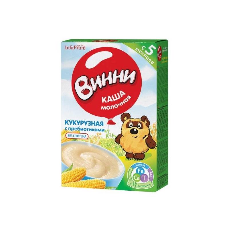 Винни Каша кукурузная с 5 мес. 220 г