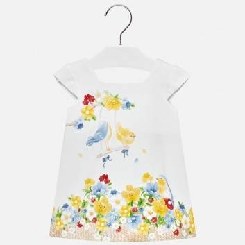 Малыши, Платье MAYORAL (белый)285521, фото