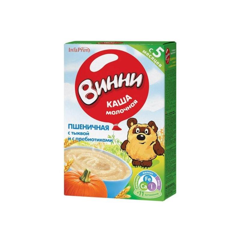 Винни Каша пшеничная с тыквой с 5 мес. 220 г