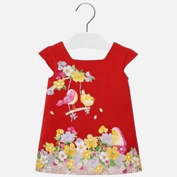 Малыши, Платье MAYORAL (красный)284376, фото