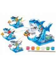 Научный опыт Акула с красками S+S Toys