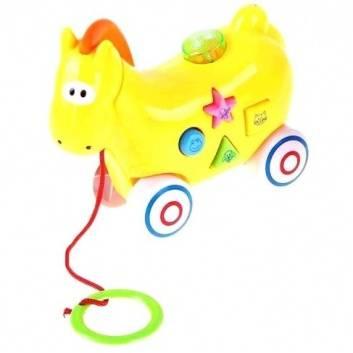 Игрушки, Каталка лошадь со звуком TopToys 230725, фото