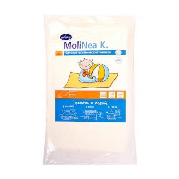 Гигиена, Впитывающие пеленки MoliNea K 60x60 см 10 шт Hartmann 628108, фото