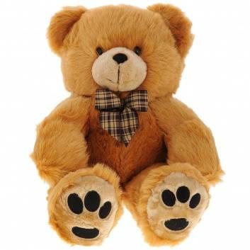 Игрушки, Медведь с бантом PLUSH APPLE 246605, фото