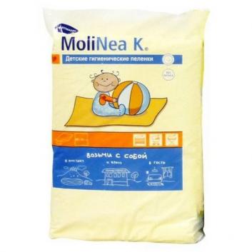 Впитывающие пеленки MoliNea K размер 60 x 90 см 10 шт.