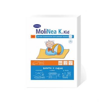 Гигиена, Гигиенические пеленки MoliNea 10 шт Hartmann 628110, фото