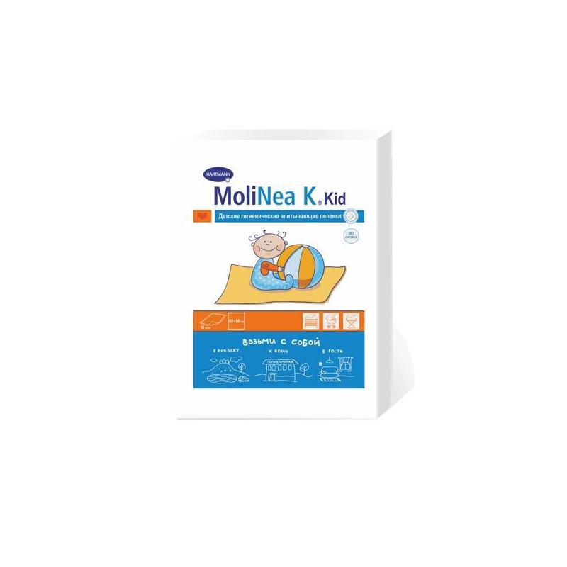 Гигиенические пеленки MoliNea 10 шт (Hartmann)