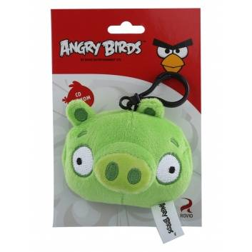 Ликвидация, Брелок со звуком Angry Birds PLUSH APPLE 228665, фото