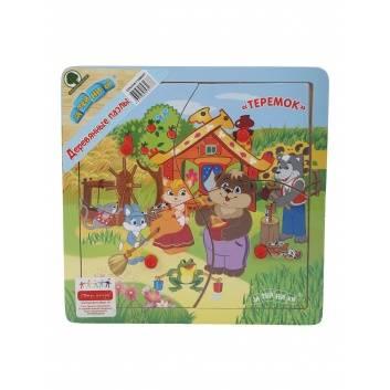 Игрушки, Пазл Сказки-2 Теремок Затейники 229290, фото