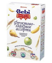 Каша Premium фруктово-злаковое ассорти с 6 мес. 250 г