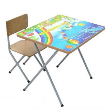 Школа, Комплект детской мебели Веселая Ферма Фея (бежевый)628618, фото