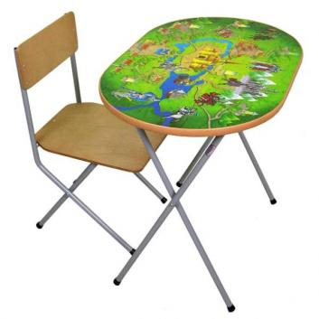 Школа, Комплект детской мебели рыцари Фея 628627, фото