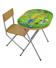 Комплект детской мебели Рыцари