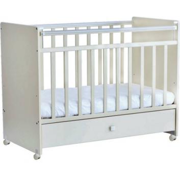 Кроватка детская слоновая кость