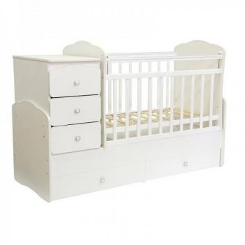 Кровать детская 2100 белый