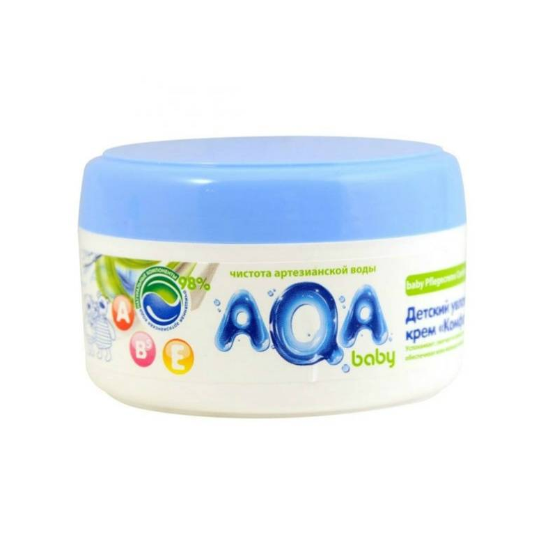 Детский увлажняющий крем Комфорт 100 мл (AQA Baby)