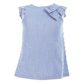 Девочки, Блузка MINIBANDA (голубой)229661, фото