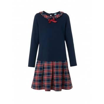 Школа, Платье Goldy (синий)289317, фото