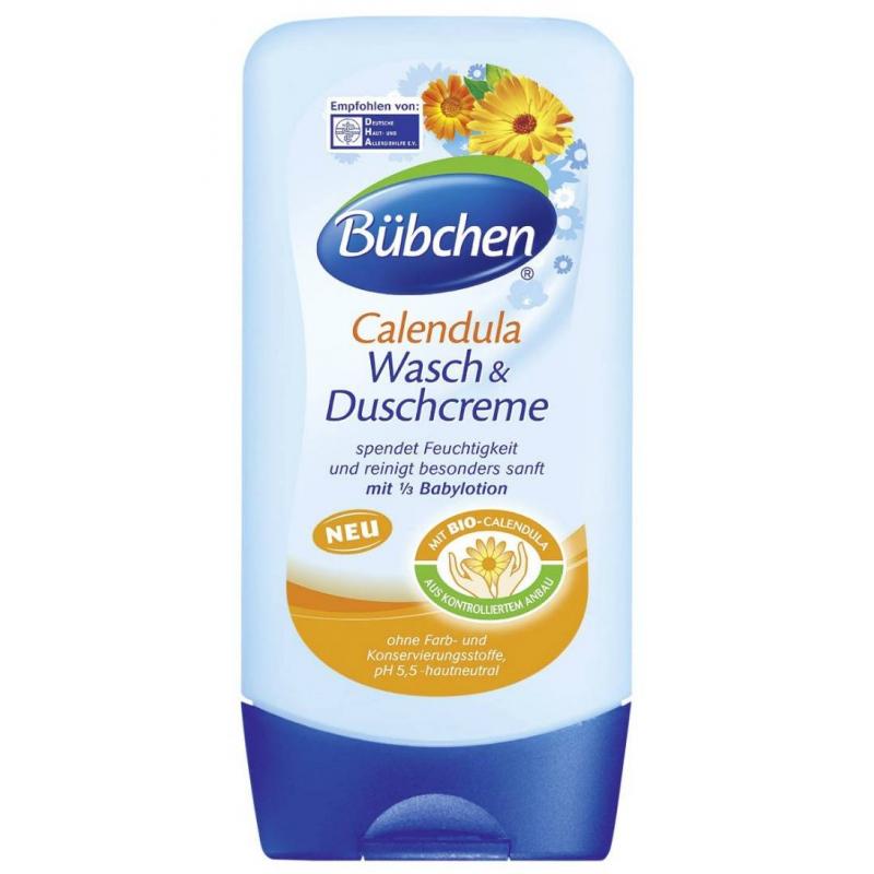 Крем для мытья и душа Календула 230 мл (Bubchen)