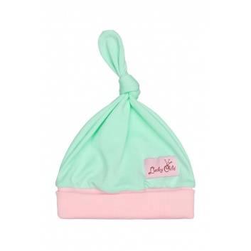 Аксессуары, Комплект шапок 2 шт Lucky Child (бирюзовый)288799, фото
