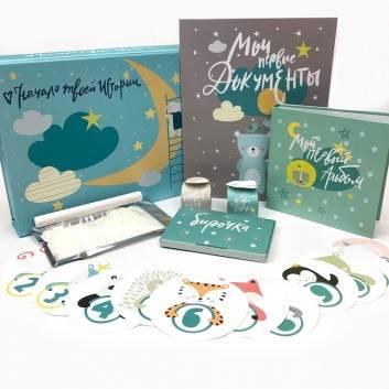 Книги и развитие, Главный набор для новорожденного от HappyLine Cute n Clever , фото