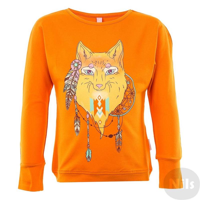 ФутболкаФутболка с длинным рукавом оранжевогоцвета марки KOGANKIDS для девочек.Данная модельвыполнена из хлопка с добавлением эластана, а также декорирована этническим принтом с изображением лисы.<br><br>Размер: 4 года<br>Цвет: Оранжевый<br>Рост: 104<br>Пол: Для девочки<br>Артикул: 630979<br>Страна производитель: Узбекистан<br>Сезон: Осень/Зима<br>Состав: 92% Хлопок, 8% Эластан<br>Бренд: Россия
