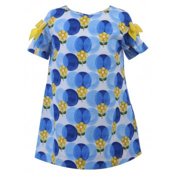 Малыши, Платье MAYORAL (синий)285506, фото