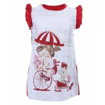 Малыши, Платье MAYORAL (красный)284879, фото