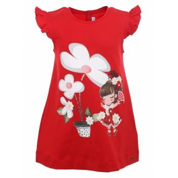 Малыши, Платье MAYORAL (красный)283745, фото