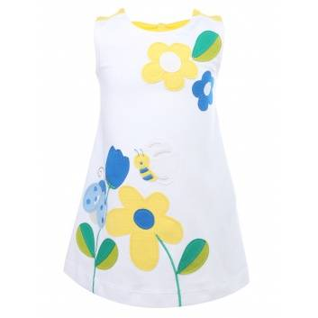 Девочки, Платье  MAYORAL (белый)267541, фото