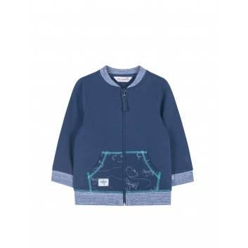 Малыши, Толстовка Coccodrillo (синий)297967, фото