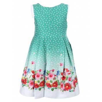Девочки, Платье MAYORAL (зеленый)286226, фото