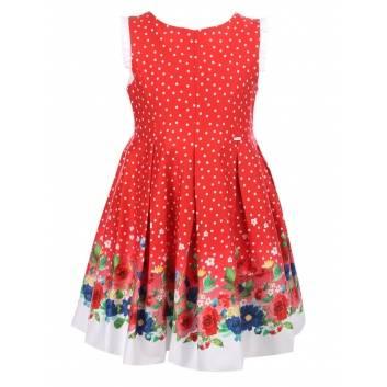 Девочки, Платье MAYORAL (красный)285000, фото