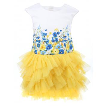 Девочки, Платье MAYORAL (желтый)286537, фото