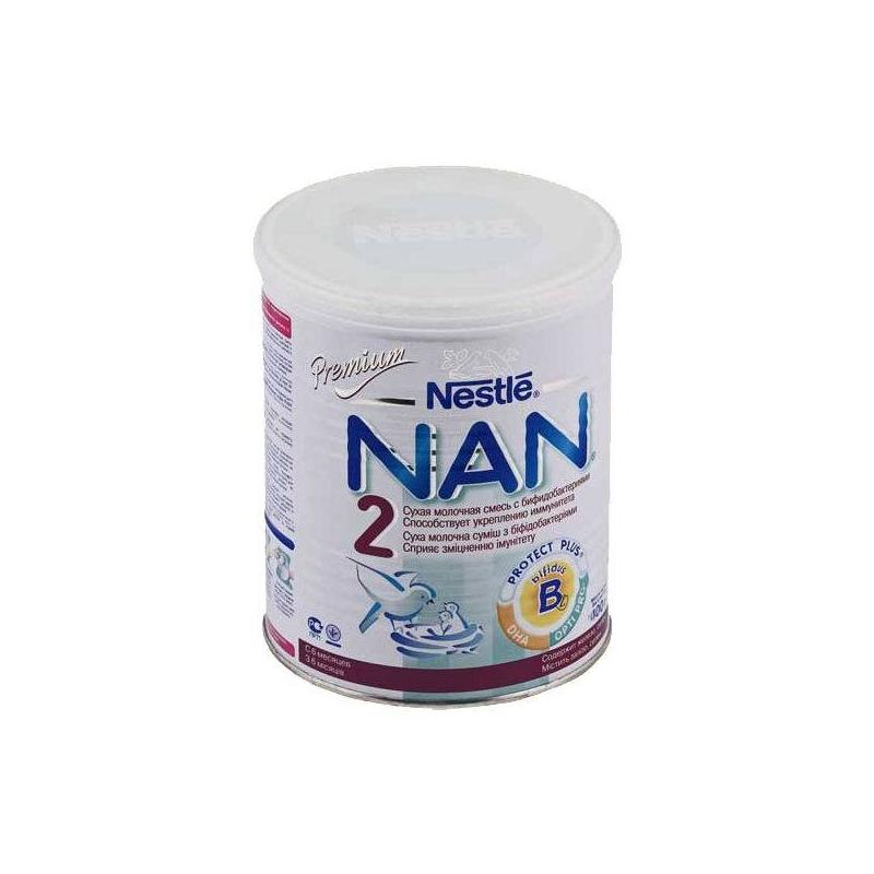 Заменитель NAN 2 Premium с бифидобактериями с 6 мес. 400 г (Nestle)