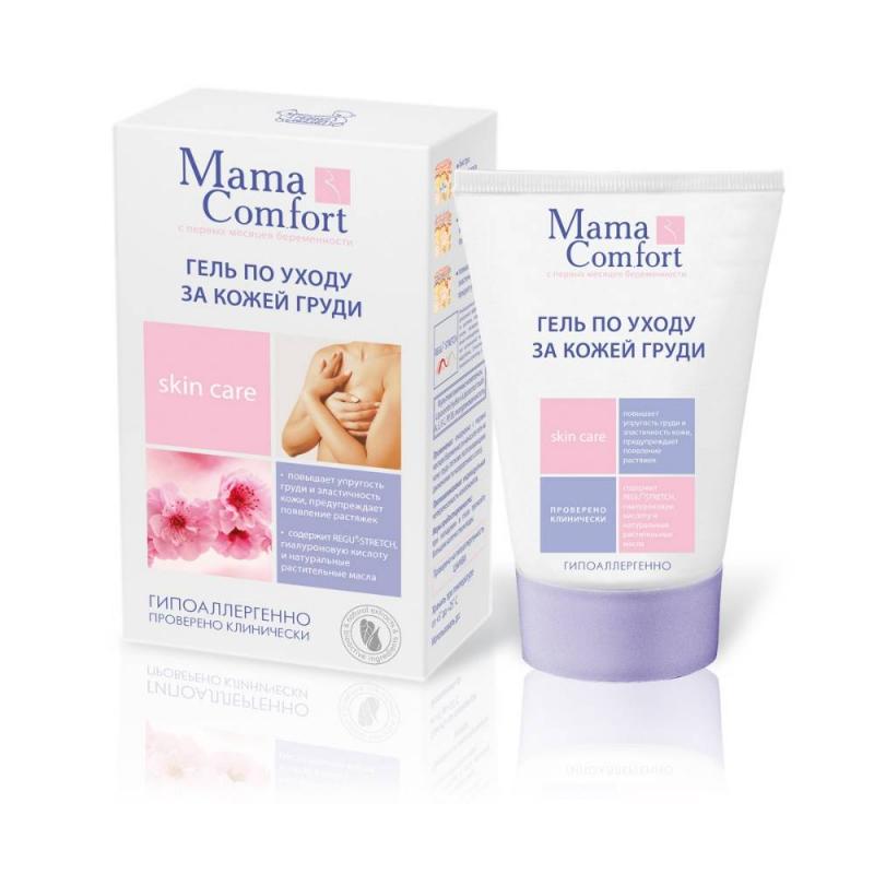 Гель по уходу за кожей груди 100 мл (Mama Comfort)